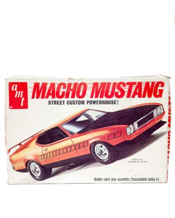 1979 AMT Macho Mustang modelbouw auto 1/25