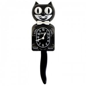 Kit-Cat Klok Classic Black