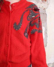 2723-Rood-vintage-vest-pailletten-2