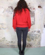2723-Rood-vintage-vest-pailletten-3