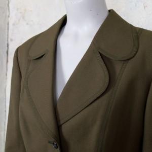 3591-olijfgroen-vintage-jasje-blazer-ronde-revers-kraag-sixties-2