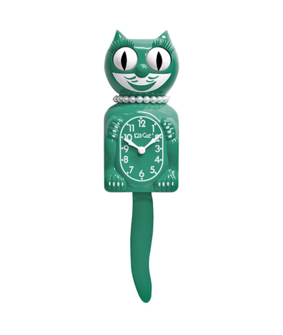 Kit-Cat Emerald Green Lady