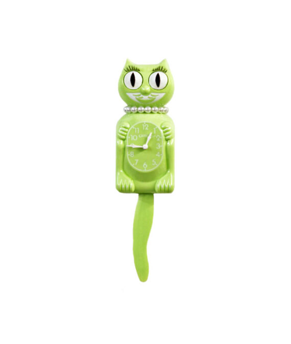 Lime Green Kitty-Cat