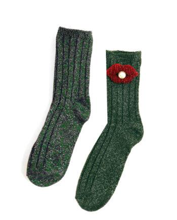 3D lippen sokken