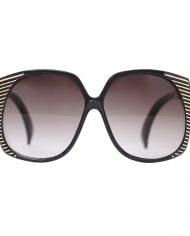 4077-Cleopatra-zonnebril-zwart-goud-1