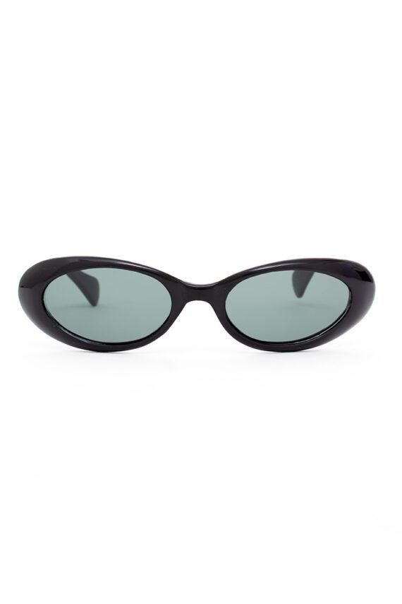 40s/50s retro ovale zonnebril