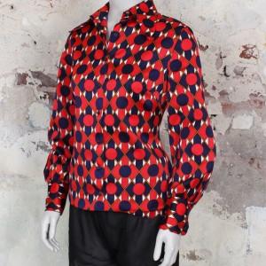 4458-blouse-met-donkerblauw-rode-stippen-print-2