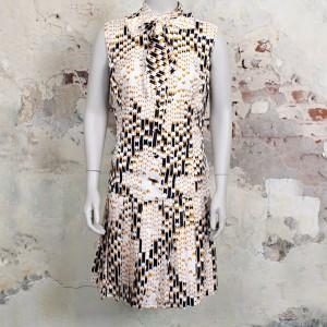 4491-wit-zwart-gele-vintage-jurk-strik-1