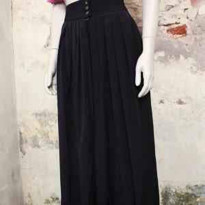 4508-zwarte-wijde-vintage-plooibroek-2