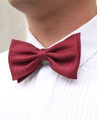 4673-luxe-heren-strik-bordeaux-rood-strepen-2