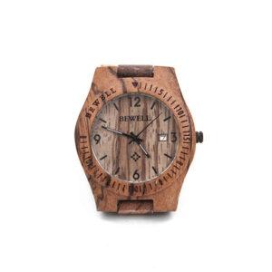 4710-Machillala-zebra-hout-horloge-1