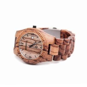4710-Machillala-zebra-hout-horloge-2