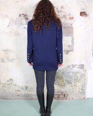 4720-Donkerblauwe-vintage-Escada-blazer-2