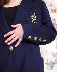 4720-Donkerblauwe-vintage-Escada-blazer-3