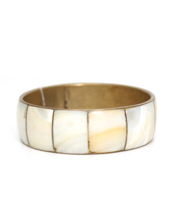 Bangle armband parelmoer