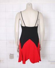 4884-vintage-moschino-cheap-chic-zomerjurkje-zwart-rood-3