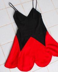 4884-vintage-moschino-cheap-chic-zomerjurkje-zwart-rood-4