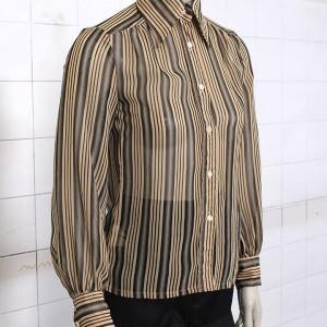 4914-groen-geel-vintage-chiffon-gestreept-blouse-2