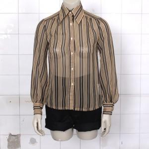 4914-groen-geel-vintage-chiffon-gestreept-blouse