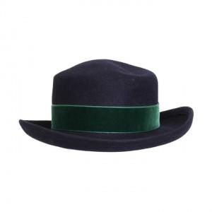 4934-blauwe-vilten-hoed-groene-strik