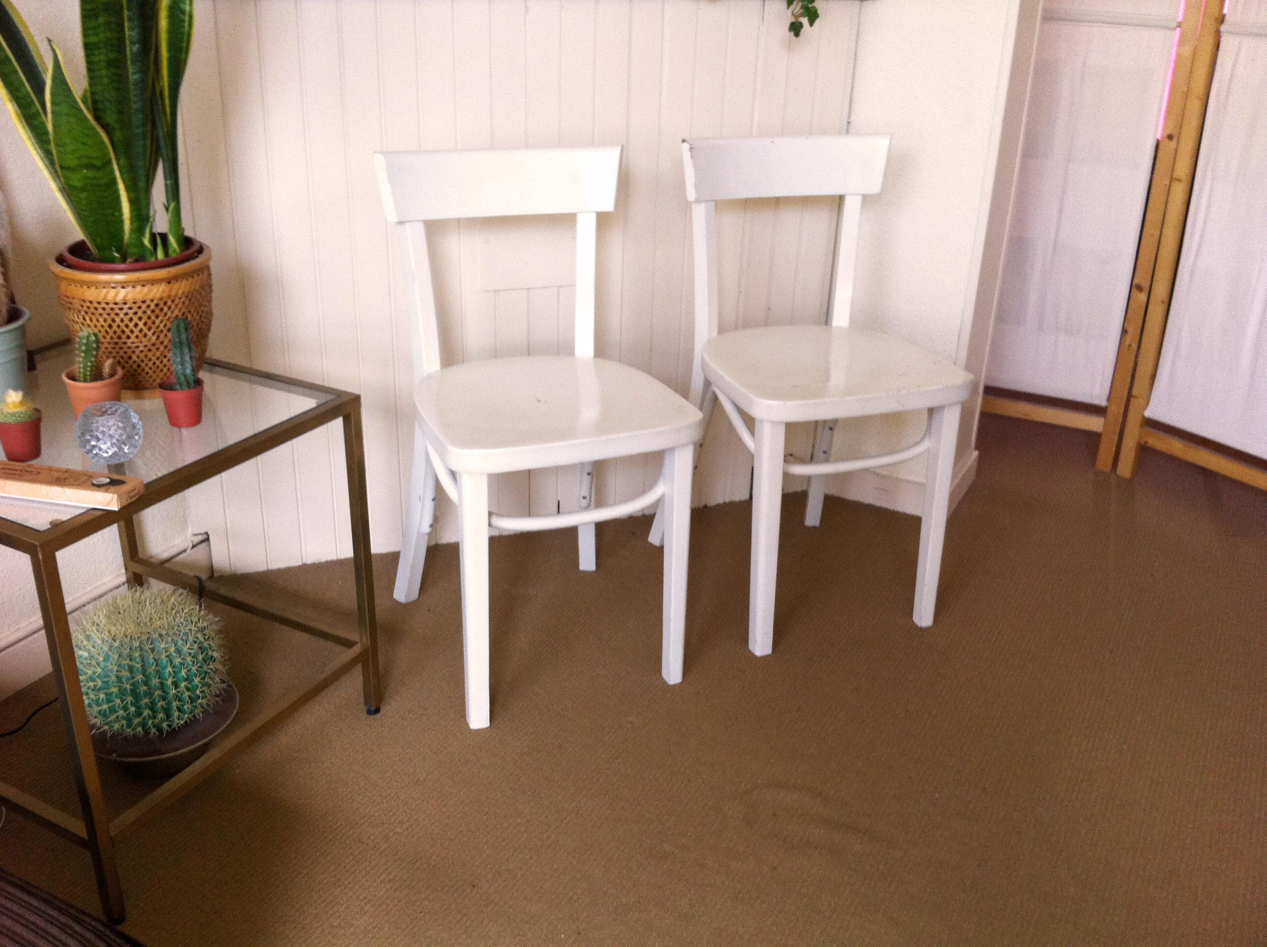 De wit stoelen tweedehands awesome bruno houssin tidjou design