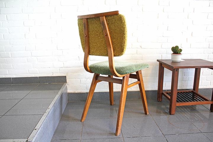 Groene vintage jaren 60 70 stoel froufrou 39 s for Groene stoel
