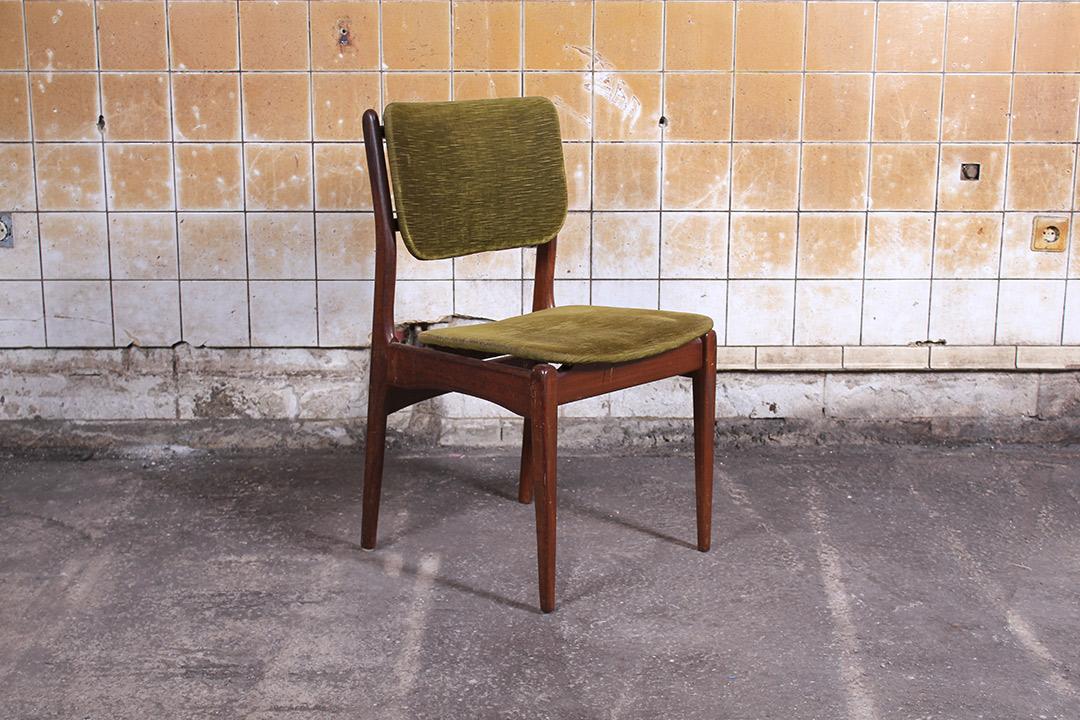 Vintage Design Eetkamerstoelen.5 Vintage Deens Design Eetkamerstoelen