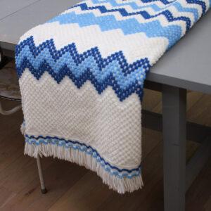 5135-wit-blauw-gebreid-vintage-plaid-deken-3