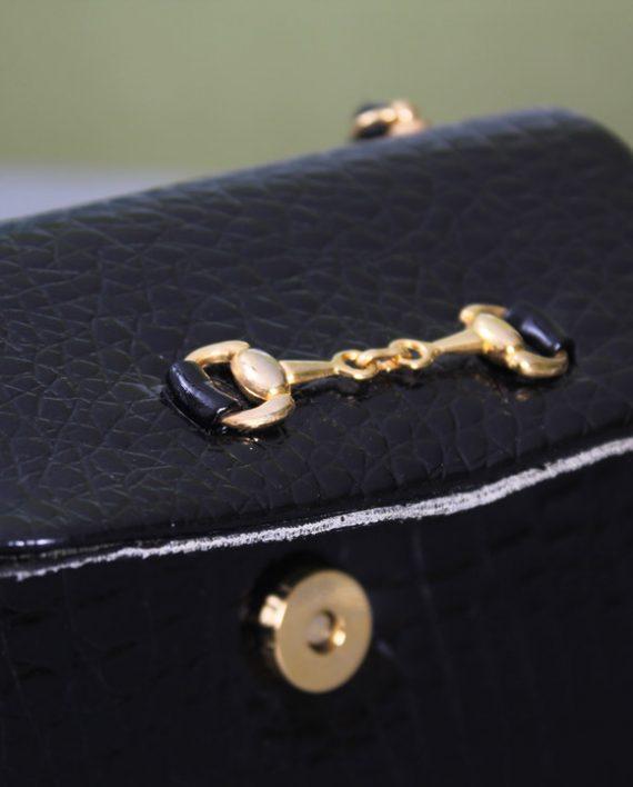 Schoudertasje Camera : Klassiek vintage schoudertasje zwart froufrou s