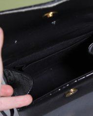 5138-vintage-zwart-lak-schoudertasje-slangenleer-print-7