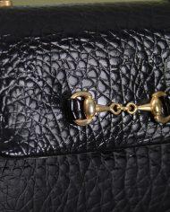 5138-vintage-zwart-lak-schoudertasje-slangenleer-print-8
