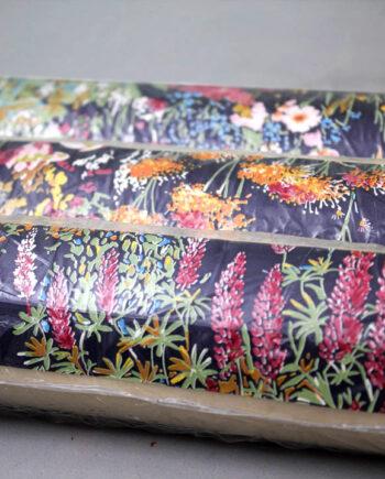 vintage behang bloemen