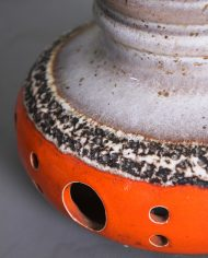 5140-vintage-west-germany-keramieken-lamp-fat-lava-gaten-oranje-bruin6