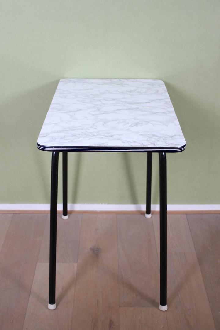 Formica tafel marmer 80 x 50 froufrou 39 s for Kuchenschrank 50 x 50