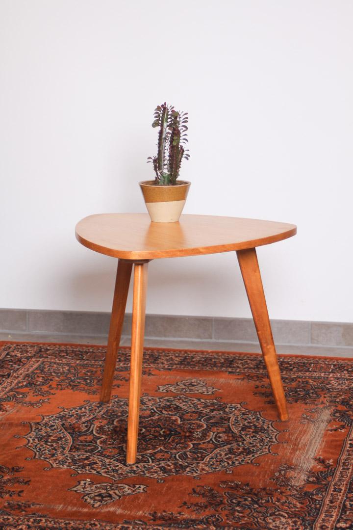 driehoekige salontafel