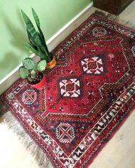 5219-vintage-perzisch-vloerkleed-handgeknoopt-iran-rood-2