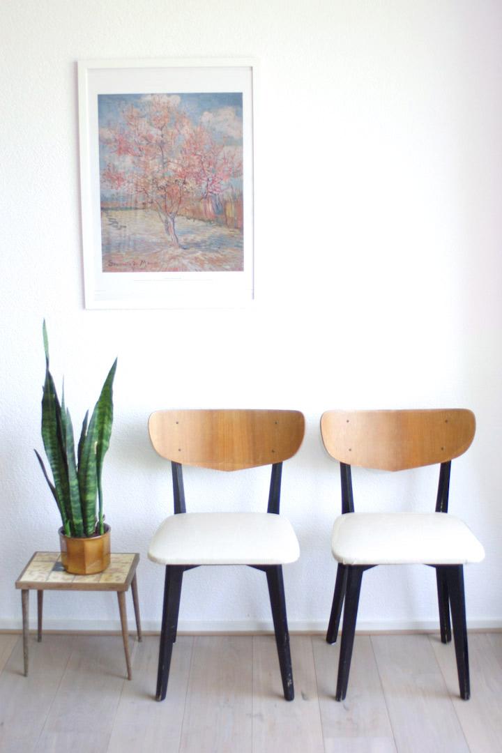 Wonderbaar Set van 2 Deens design stoelen - Froufrou's AN-94