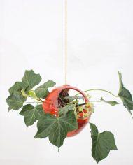 5294-vintage-oranje-bol-bloempot-ronde-plantenhanger-keramiek-jaren-70-hangpot-4