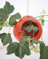5294-vintage-oranje-bol-bloempot-ronde-plantenhanger-keramiek-jaren-70-hangpot-6