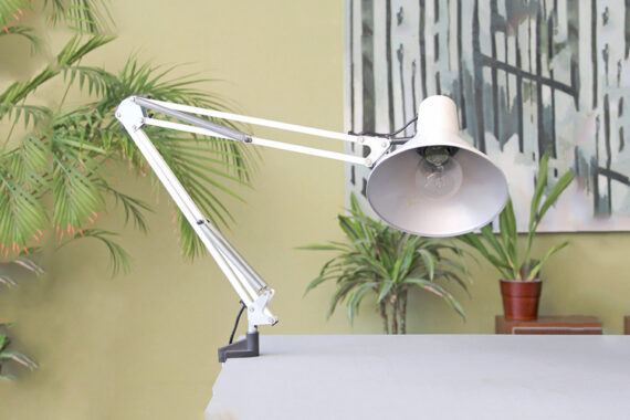 vintage architectenlamp