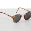 Ronde clubmaster retro zonnebril