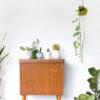Vintage plantenhanger potje