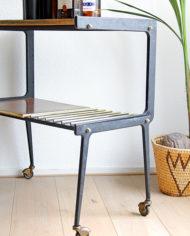 Franse vintage trolley