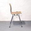 6 Vintage schoolstoelen plywood