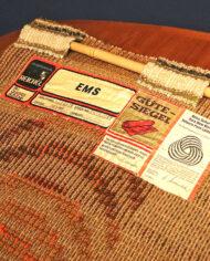 70s vintage wandkleed smyrna wol
