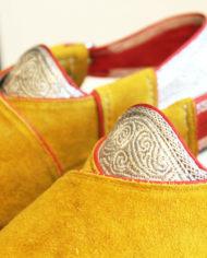 Afgaanse-geel-suede-heren-sandalen-3