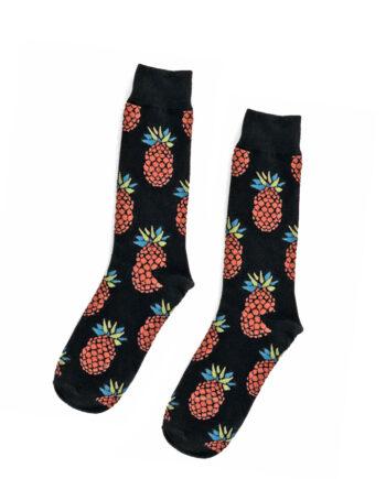 Ananas sokken retro pop 80s