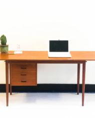 Arne-Vodder-vintage-bureau-teak-inklapbaar-Deens-design-jaren-60-1