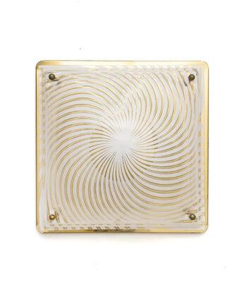 Art Deco-stijl Massive plafonniere goud