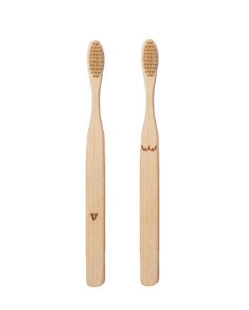 Bamboe tandenborstels Kikkerland Nudie